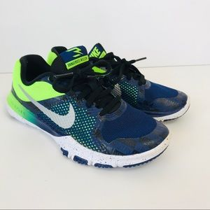 Nike Flex TR Russell Williams Kids Shoes Lime